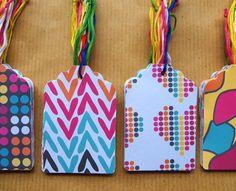 DIY gift tags...CUTE!