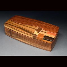 Larry Anderson wooden box
