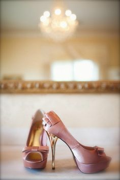Pink shoes... love these! =)