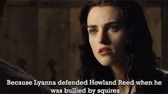 Lyanna was awesome