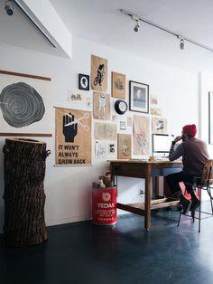 Un beau bureau | À la mode Montréal