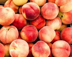 White peaches at the Market. Fine Art Food Photography Print for Home Decor Wall Art. Freshly picked white peaches on display at the farmer's market. White peaches have a white flesh rather than yellow and are much more delicate. ~~ SELECT DESIRED SIZE USING THE OPTIONS BUTTON ABOVE ADD TO CART. Available in: 5x7, 8x10, 11x14, 12x18, 16x20, 20x30, 24x36 prints.