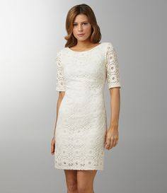 Night Way Lace Sheath Dress | Dillards.com