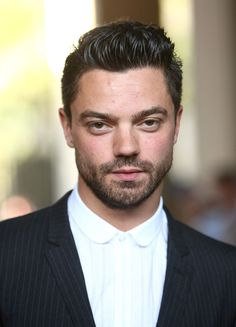 """Dominic Cooper... role of famed author Ian Fleming, who wrote the """"James Bond"""" novels"""