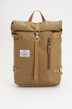 Poler Rolltop backpack - olive