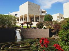 """""""Tip the world over on its side and everything loose will land in Los Angeles"""" Frank Lloyd Wright #polpettasgoes to Los Angeles The Getty Center"""