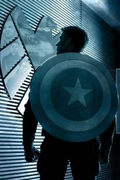 Captain America: Winter Solider Fan Posters <<GUYS look at the reflection in the SHIELD logo on the wall!!!!!!