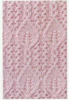 Lace Knitting Stitch #71 | Lace Knitting Stitches