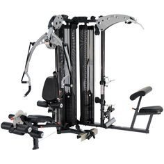 Shop for Inspire Fitness Multi-Gym Home Gym - Black. Get free delivery On EVERYTHING* Overstock - Your Online Sports & Fitness Store! Commercial Fitness Equipment, No Equipment Workout, Training Equipment, Gym Workouts, At Home Workouts, Workout Exercises, Posture Exercises, Stomach Exercises, Fitness Depot