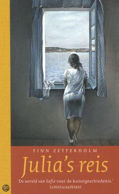Julia's reis over een meisje dat reist door schilderijen, verstrikt raakt in de tijd en begint te twijfelen of ze ooit nog terug komt. Fascinerend boe met natuurlijk ook een vervolg: Julia's verdwijning. Julia's reis - geschreven door Finn Zetterholm