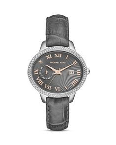 Michael Kors Whitley Pave Encrusted Watch, 41mm