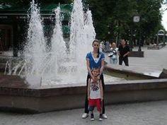 moja cerka Dijana i unuk Gabriel Teo