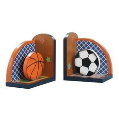 Fantasy Fields - Lil' Sports Fan Set of Bookends