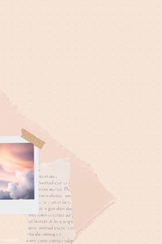 Instagram Frame Template, Photo Collage Template, Journal Template, Aesthetic Template, Pastel Background, Banner Vector, Aesthetic Iphone Wallpaper, Instant Photo, Graphics Vintage