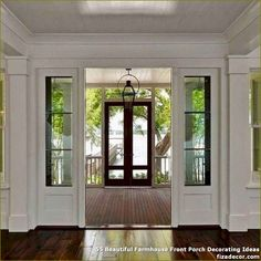 ✓ 55 Beautiful Farmhouse Front Porch Decorating Ideas - Unpretentious and timelessly interesting, the country sensibility attracts from antiquated eras to mix previous world magnificence with fashionable subtlety.  #BeautifulFarmhouseFrontPorchDecoratingIdeas #FarmhouseFrontPorchDecoratingIdeas #FrontPorchDecoratingIdeas #FrontPorchIdeas
