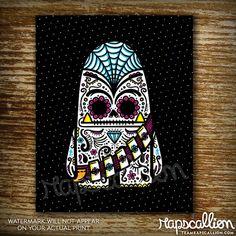 8x10 Sugar Wookiee Art Print Chewbacca by rapscalliondesign, $12.00