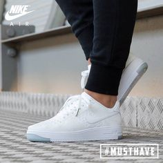 Nike Air Force 1 Flyknit Low post image- benj-i Sneaker Outfits, Nike Outfits, Sneaker Boots, Sneakers Mode, White Sneakers, Sneakers Fashion, Fashion Shoes, Mens Fashion, Women's Shoes