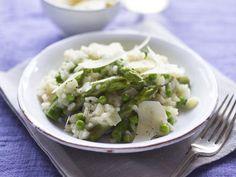 Risotto primavera recipe I Vegetarian recipes