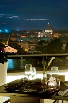 With summer just around the corner, there's no better way to view the Eternal City in all its glory than from a rooftop restaurant. We've scouted around for six of the best.