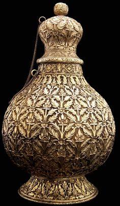 Silver Vase, India
