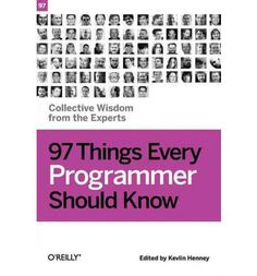 97 short and useful tips for programmers.