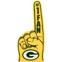 Green Bay Packers Fan Foam Finger Rico Industries, Inc. Green Bay Packers Merchandise, Packers Football, Nfl Green Bay, Green And Gold, Party Supplies, Gears, Finger, Fan, Tailgating