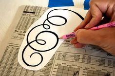 Easiest Design Transfer Method You'll Ever Find - So clever!