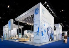 Central piazza design concept for GE Healthcare