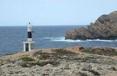 Faro de Cap de Sa Pared (Fornells - Menorca) / Baleares / Spain