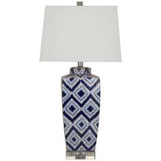 Bassett Mirror Old World Collins Table Lamp