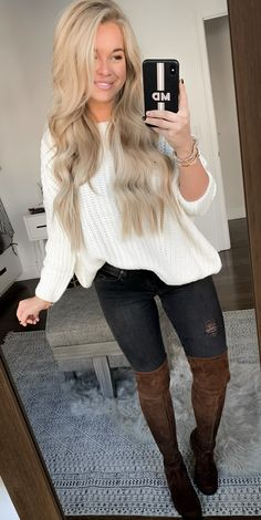 How To Get And Buy Gorgeous Stylish Clothes – Clothing Looks Fall Winter Outfits, Autumn Winter Fashion, Thanksgiving Fashion, Cute Outfits For Thanksgiving, Perfect Fall Outfit, Winter Mode, Winter Trends, Fashion Outfits, Womens Fashion