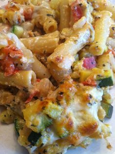 vegetable ziti @Meredith Radisic