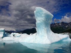 Bear Glacier Iceberg - Kenai Fjords National Park