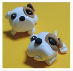 Air Dry Clay Tutorials: Cute Critter Week ~ Bulldog Tutorial