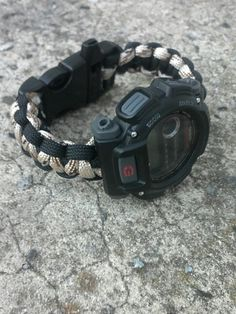 Braided up a watch band for my g-shock using desert tan and black 27th Birthday, Paracord Bracelets, G Shock, Casio Watch, Watch Bands, Survival, Watches, Cool Stuff, Google