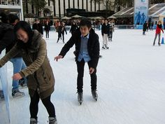 Ice Skating in NYC- does it get any better than that?