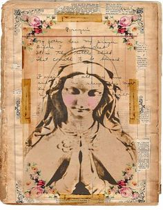 """Blessed Mother of Bon Jovi ~ """"My father hear my prayer before I go to rest, It is thy little child that cometh to be blessed, Forgive me all my sins and let me sleep this night, In safety and in peace, Until the morning light""""..."""