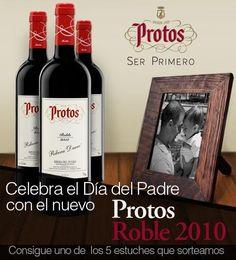 Sorteo 5 packs de vino Protos Roble 2010