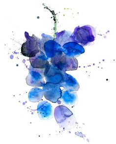 Margaret Berg Art: Juicy Grapes