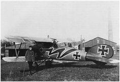 Albatros D.Va 5639/17 Ltn. Hans Joachim von Hippel Jasta 5, 1917/18