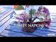 How to Fold a Turkey Napkin | eHow