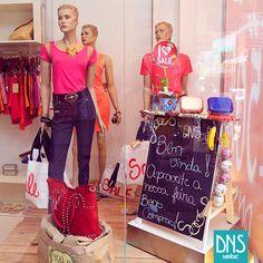 Visual Merchandising - VM Promocional da Danashe Moda