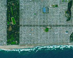 La civilización en perspectiva: El mundo desde arriba,San Francisco, California, EE.UU. Imagen cortesía de Daily Overview. © Satellite images 2016, DigitalGlobe, Inc