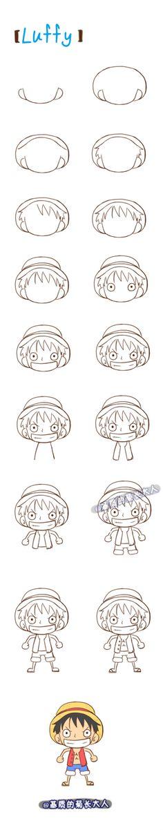 Luffy from @基质的菊长大人