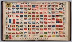 National & Commercial Flags of All Nations (1886)
