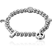 Alex Woo 925 Sterling Silver Little Charm Bracelet with Mini Heart Symbol$510.49More details