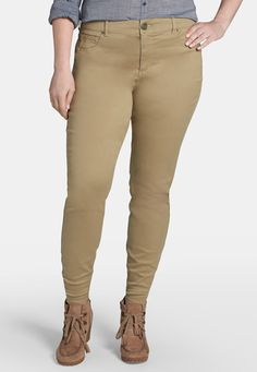 denim flex � plus size jegging in mushroom (original price, $39) available at #Maurices