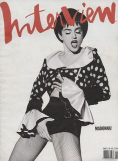Interview. Art director Fabien Baron. #Madonna  #magazine #photoshoot