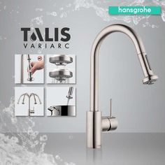 Enter today for your chance to win one of 5 Hansgrohe Talis Variarc Kitchen Faucets! #TalisVariarc