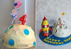 Sistema Solar, Astronaut Party, Call Art, Birthday Candles, Cake, Kids, Decor, Biscuit, Star